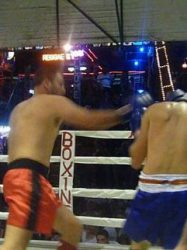 Andy Scott boxing