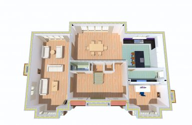 Winchester Kingworthy Plot 1 Ground Floor