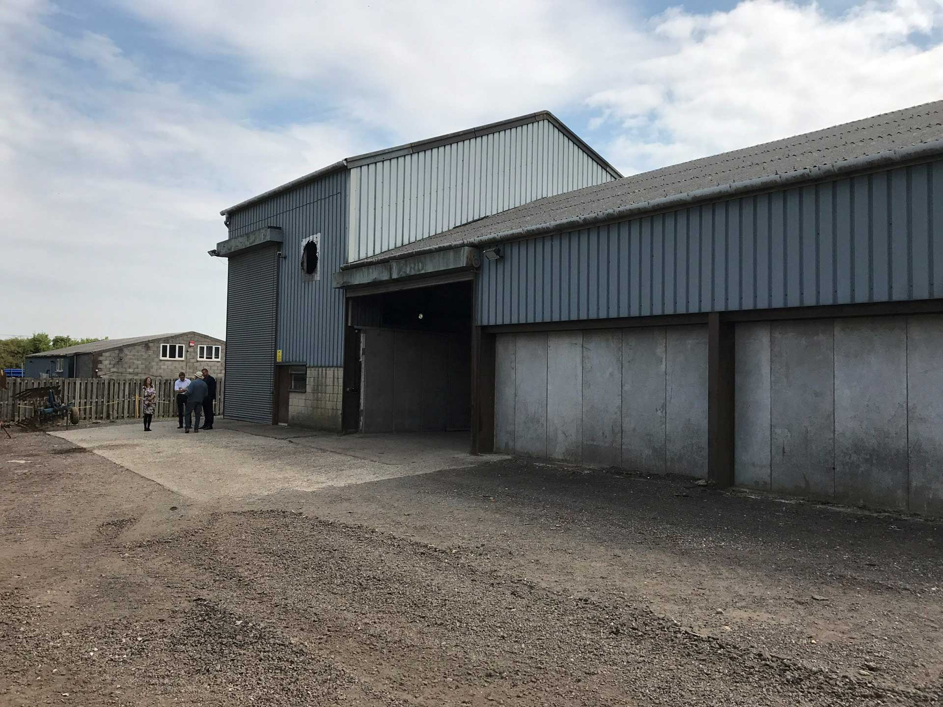 Alton Green Farm Barn Andy Scott Entrepreneur