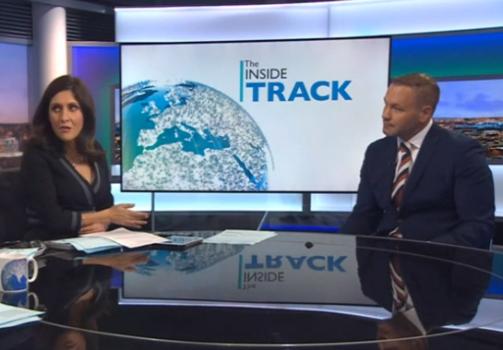 Andy Scott talks to BBC Business Breakfast